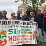 """Carmen Quintanilla acude a la manifestación """"La Revuelta de la España Vaciada"""" contra la despoblación"""
