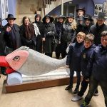 Almodóvar del Campo: El entierro de doña Sardina se completó con 40 kilos de sardinas, que  fueron ofrecidos a los dolientes