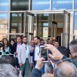 Más de 200 personas personas se quedan fuera del mitin de Abascal en el paraninfo de Ciudad Real