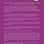 """Manifiesto del alumnado del Ciclo de Formación en Igualdad de Género: """"No se trata de tener derecho a ser iguales, sino de ser iguales en derechos»"""