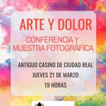 """Conferencia y muestra fotográfica """"Arte y Dolor"""" organizada por FibroReal"""