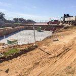 La construcción de la piscina de San Benito avanza conforme a los plazos previstos