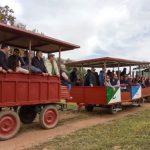 El Club Taurino 'Almodóvar' llevó a sesenta personas hasta la finca jienense de Hermanos Collado