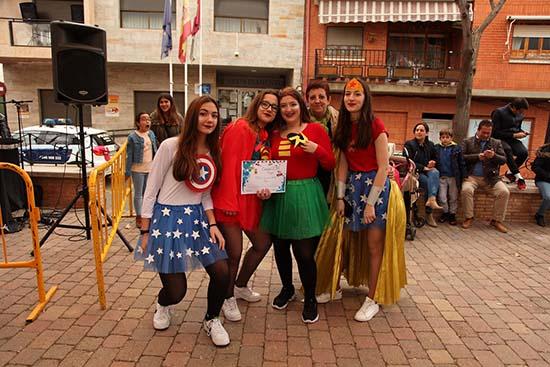 El ingenio y la diversión arrasan en el Concurso de Carnaval de Adultos de Porzuna ...