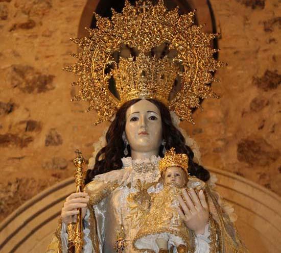 Puertollano: La Virgen de Gracia mostrará el viernes su nuevo ...