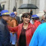La socialista Isabel Rodríguez deja «emocionada» el Congreso pero con la «ilusión» de trabajar por Puertollano