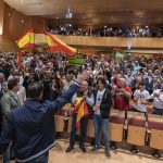 """Abascal compara los mítines de VOX y el PSOE en Ciudad Real: """"Pedro Sánchez, aquí nos quieren más que a ti"""""""