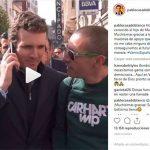 Pablo Casado anuncia a la madre de un joven que conoció hoy en Oviedo su próxima visita a Ciudad Real