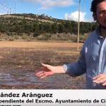 """Pedro Fernández, enojado por el """"derroche"""" de agua por la limpieza de los depósitos de La Atalaya"""