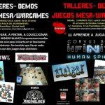 Puertollano: Sábados de talleres de la Asociación Minero Blanco de juegos de mesa wargames