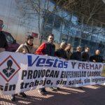 """Trabajadores de Vestas recurren a la Fiscalía para tratar de solucionar los """"problemas de salud laboral"""" que padecen"""