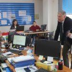 Cañizares se reúne con la Fundación CEPAIM en Ciudad Real