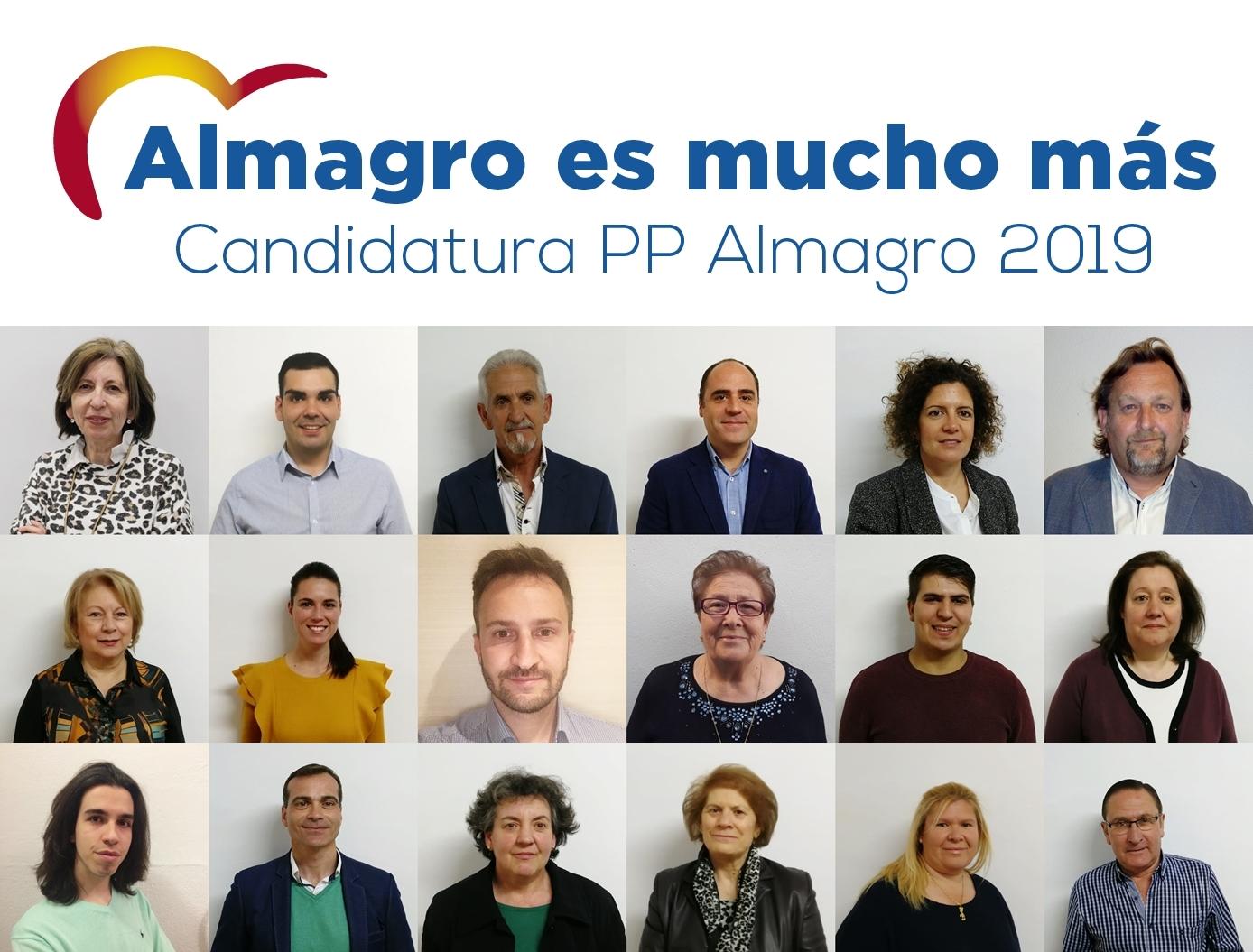 El Pp De Almagro Presenta Su Candidatura A La Alcaldia