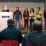 Cotillas apoya a Jennifer Cortecero en la presentación de la candidatura del PP de Fuencaliente