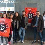 """Unidas Podemos se suma a la concentración en defensa de las pensiones y organiza la proyección del corto """"Gaza"""""""