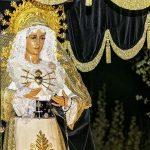 Argamasilla de Calatrava: Nuestra Señora de los Dolores estrena esta Semana Santa nuevo manto