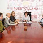 Puertollano: La directiva de la Cofradía de Caballeros de la Virgen de Gracia comparte con la alcaldesa sus nuevos proyectos