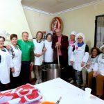 Puertollano: Lleno solidario en la chocolatada contra el cáncer en El Villar