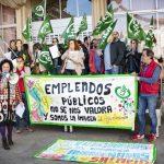 """Tercera concentración de los trabajadores del grupo """"A-2"""" del Ayuntamiento de Ciudad Real ante la falta de respuesta del equipo de Gobierno"""