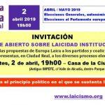 Ciudad Real: Debate abierto sobre laicidad institucional
