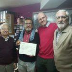 Ciudad Real: SOLMAN recibe la donación de la Asociación Cultural «Amigos de Javier Segovia»