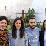 Unidas Podemos visita el huerto urbano de Santiago y presenta sus propuestas de Medio Ambiente
