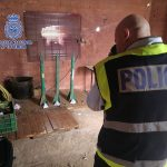 La Policía Nacional se ha incautado de un tipo de explosivo altamente peligroso en una finca agrícola de Alcázar de San Juan