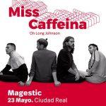 Miss Caffeina presenta su nuevo trabajo este Jueves en Zahora Magestic