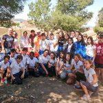 150 alumnos de Primaria y Secundaria conocen el origen y características de la laguna de Almodóvar