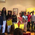 Fátima Haddouch, ganadora del concurso de redacción sobre Derechos Humanos de Amnistía Internacional en Ciudad Real