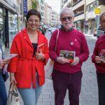 """Pilar Zamora recuerda la """"valentía"""" con que se acometió la obra de la Plaza Cervantes y se compromete a arreglar Montesa y dinamizar Ciruela"""