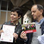 """Ciudad Real:  """"Mucha ilusión"""" el primer día de campaña, en el que la candidatura socialista reparte un programa electoral """"de lectura fácil"""""""