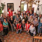 Cruz Roja Almodóvar invitó a sus mayores a hacer un ejercicio de memoria al visitar casas solariegas rehabilitadas