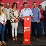 """Caballero agradece a la ciudadanía el triunfo """"arrollador"""" que concede la mayoría absoluta al PSOE en la Diputación y la Junta de Comunidades"""