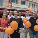 """Ciudadanos cierra la campaña """"palpando"""" las ganas de cambio y convencido de liderar el Ayuntamiento"""