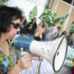 """Candidatos del PP y Cs apoyan con su presencia la cuarta concentración de trabajadores del grupo """"A-2"""" del Ayuntamiento de Ciudad Real"""