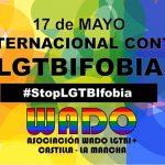 Manifiesto con motivo del Día Internacional contra la LGTBIfobia 2019 de la Asociación WADO LGTBI+ de Castilla-La Mancha