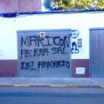 Denuncian la aparición de pintadas homófobas en viviendas y comercios de Miguelturra