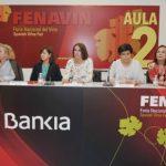 Nutrida presencia masculina para escuchar el vino en femenino en FENAVIN 2019