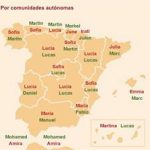 Lucas y Lucía, los nombres más frecuentes en Castilla-La Mancha, y María Carmen y Antonio, en la provincia de Ciudad Real