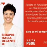 Ciudad Real: El PSOE propone un plan de reincorporación al mercado laboral para mujeres de más de 45 años