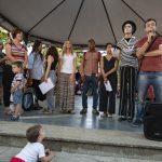 Colectivos sociales de Ciudad Real conmemoran en los Jardines del Prado el Día del Refugiado