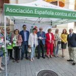 Junta, Diputación y Ayuntamiento colaboran con la AECC
