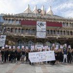 """Ciudad Real: Una 'performance' para visibilizar a las personas en desempleo """"que no paran"""""""