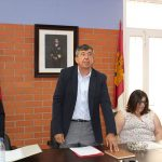"""Ángel Gómez tomó posesión como nuevo alcalde de El Torno """"para seguir hacia delante y conseguir lo mejor para nuestro pueblo"""""""