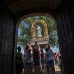 Alarcos despide la festividad de su Virgen con la tradicional procesión