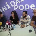 """Unidas Podemos no apoyará la investidura de Zamora y advierte de que el pacto con Cs supone una """"involución"""" hacia políticas de derechas"""