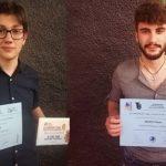 Ándel de Nova y Adrián Rodríguez, premiados en Vila Joiosa