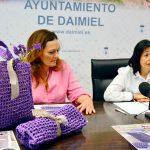"Las bolsas ""púrpuras"" se ponen a la venta este jueves en la Plaza de España de Daimiel"