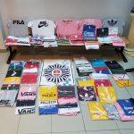 Puertollano: Decomisadas un centenar de prendas falsificadas en el mercadillo